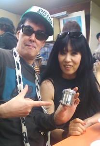 鮎川さん&シーナさん&DryGlossAmp