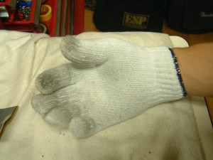 ミッキーの手