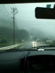 土砂降り。