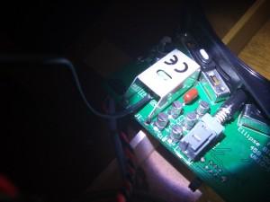 SBTをコネクターに固定。