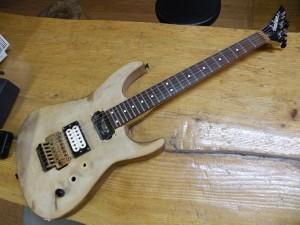 """通称""""Junkson""""ギター。"""