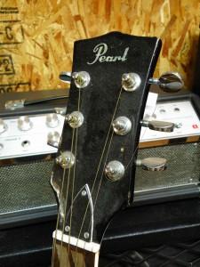 何とパールのギターですよ。
