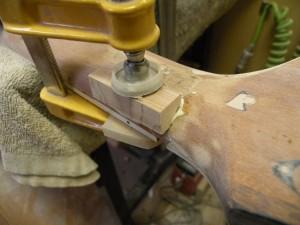 オービル・レスポールカスタムのネック折れ修理